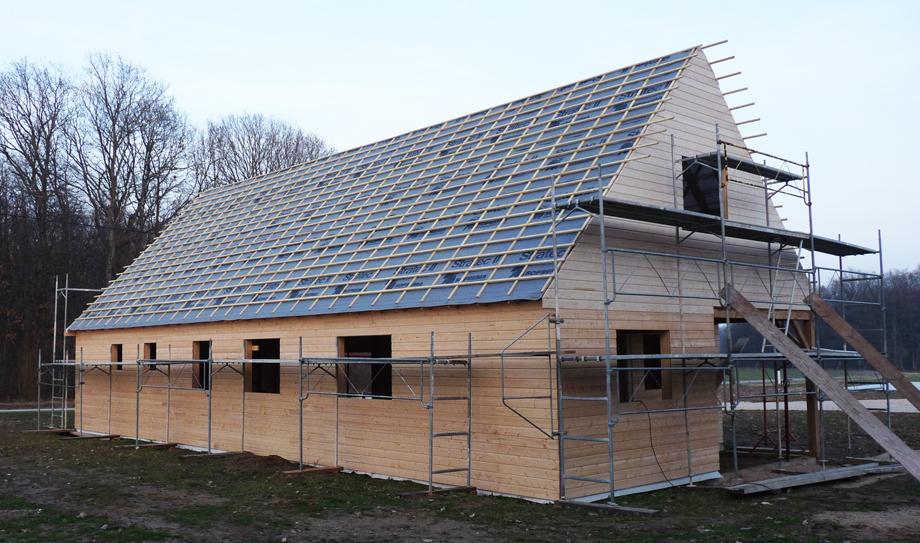 Principe de construction de la maison ossature bois for Constructeur maison ossature bois 05