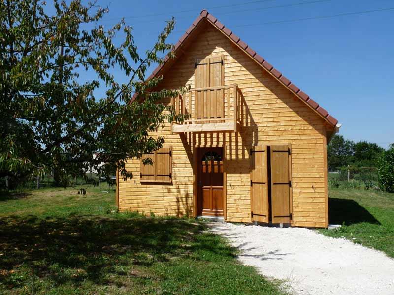Petite Maison Bois ~ Accueil Design et mobilier # Petite Maison Ossature Bois